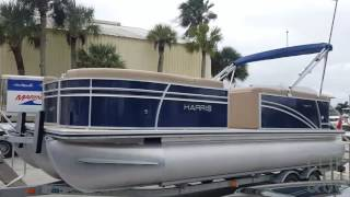 2017 Harris 230 Cruiser Pontoon Boat For Sale at the MarineMax Cape Haze / Venice