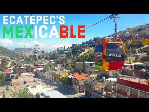 ECATEPEC | ESTADO DE MEXICO | MEXICO'S MOST DANGEROUS AREA? | TELEFERICO MEXICABLE