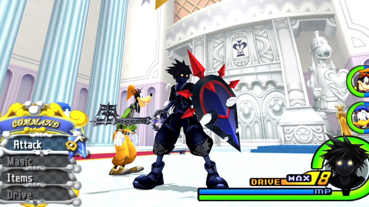 Dark Knight Form - Kingdom Hearts 2 Final Mix Mod - YouTube