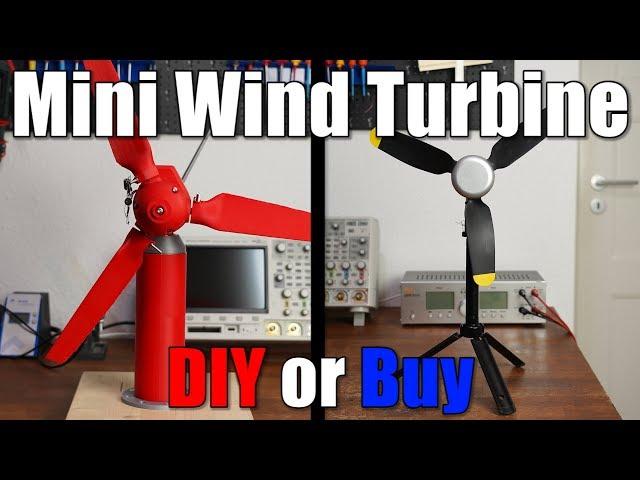 Mini Wind Turbine || DIY or Buy