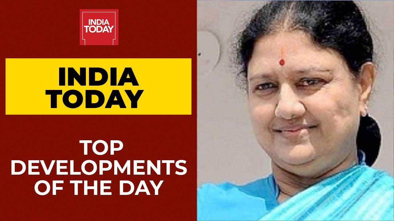 10 PM News: Sasikala To Re-Enter Tamil Nadu Politics; 7 Years Of Modi Govt; Chase For Choksi; &