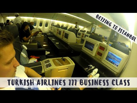 Flight Review: Turkish Airlines 777-300ER Business Class from Beijing to Istanbul