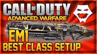 COD: Geavanceerde Oorlogvoering - LASER GUN! ''EM1 BESTE KLASSE SETUP'' (COD: AW Multiplayer Klasse Opstellingen)