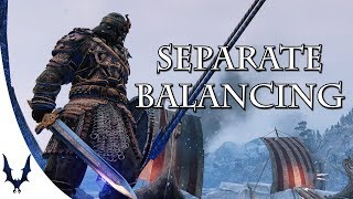 For Honor - Separate Balancing of PC and Consoles