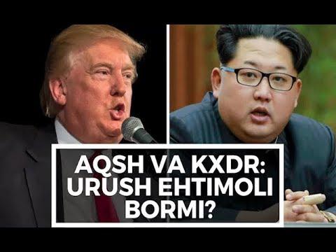 AQSh va Shimoliy Koreya o'rtasida urush ehtimoli bormi?
