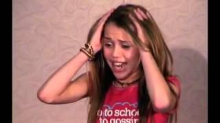 Miley Cyrus&#39s Audition tape for Hannah Montana