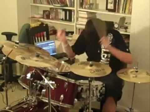Escape The Fate - Bad Blood Drum Cover - YouTube