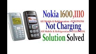 Nokia 1600, 1110,1112, 2300 Not Charging Problem