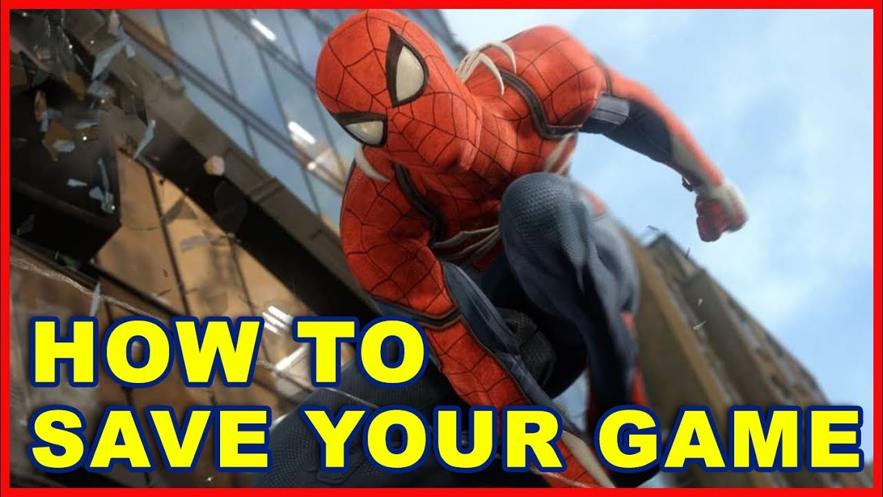 Spider-Man PS4: How to Save Your Game