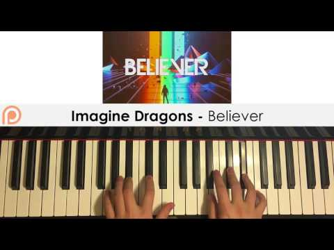 Imagine Dragons - Believer (Piano Cover) | Patreon Dedication #147
