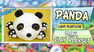 Play Doh Baby Po Kung Fu Panda - Diy Plasticine Kit By Fabulousplayland