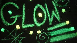 How To Make Glow In The Dark Chalk!