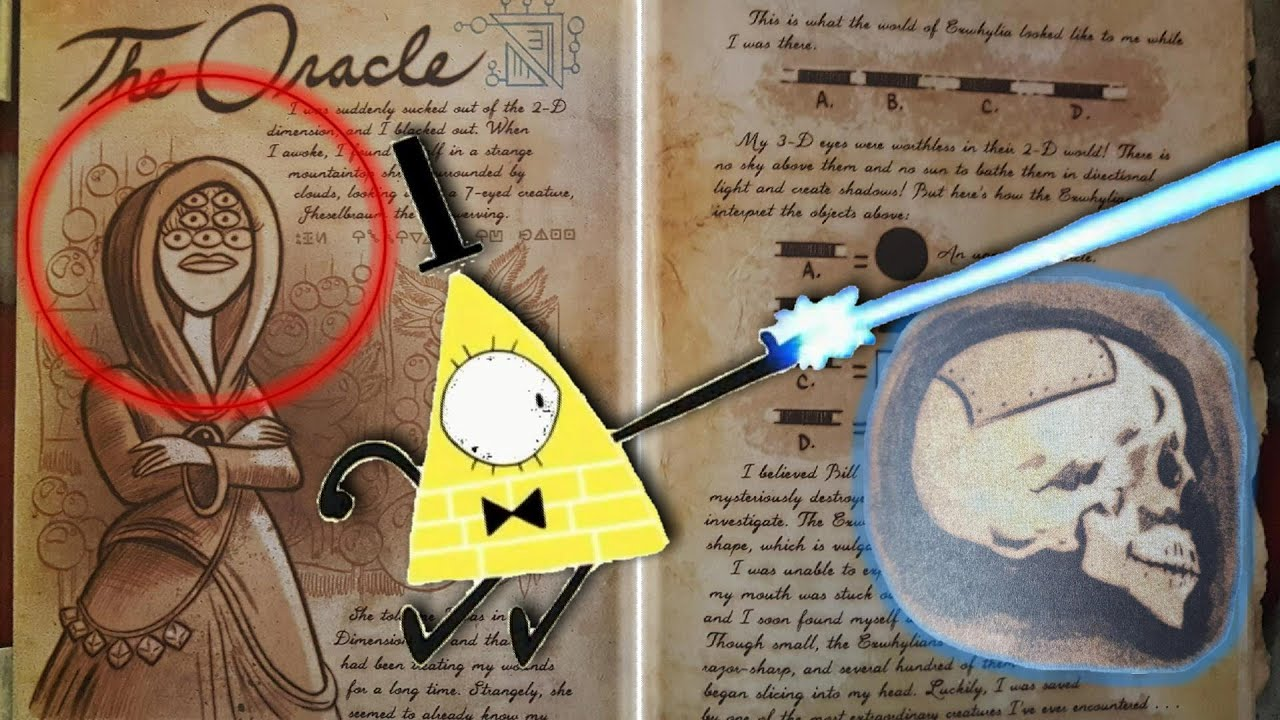 Wallpaper Gravity Falls Journal 3 Update 2 Bill S Past Theory The Oracle And
