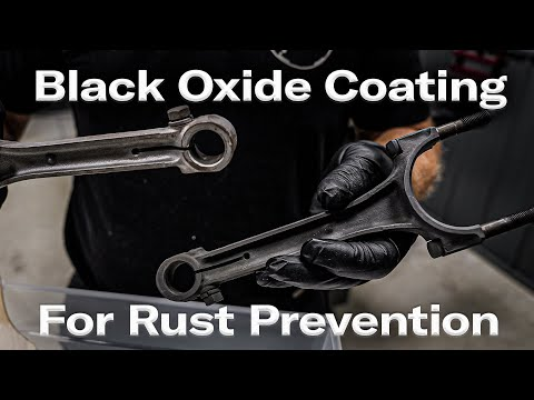 How To Coat Engine and Small Parts for Rust Prevention with Black Oxide