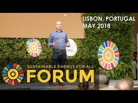 Sustainable Energy for All Conference - Lisbon, Portugal May 2018