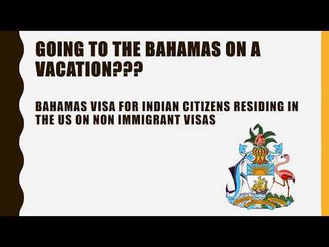 Bahamas Visa for Indians
