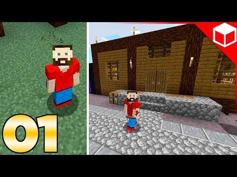 A Whole New World! Austin John Plays Minecraft Part 1
