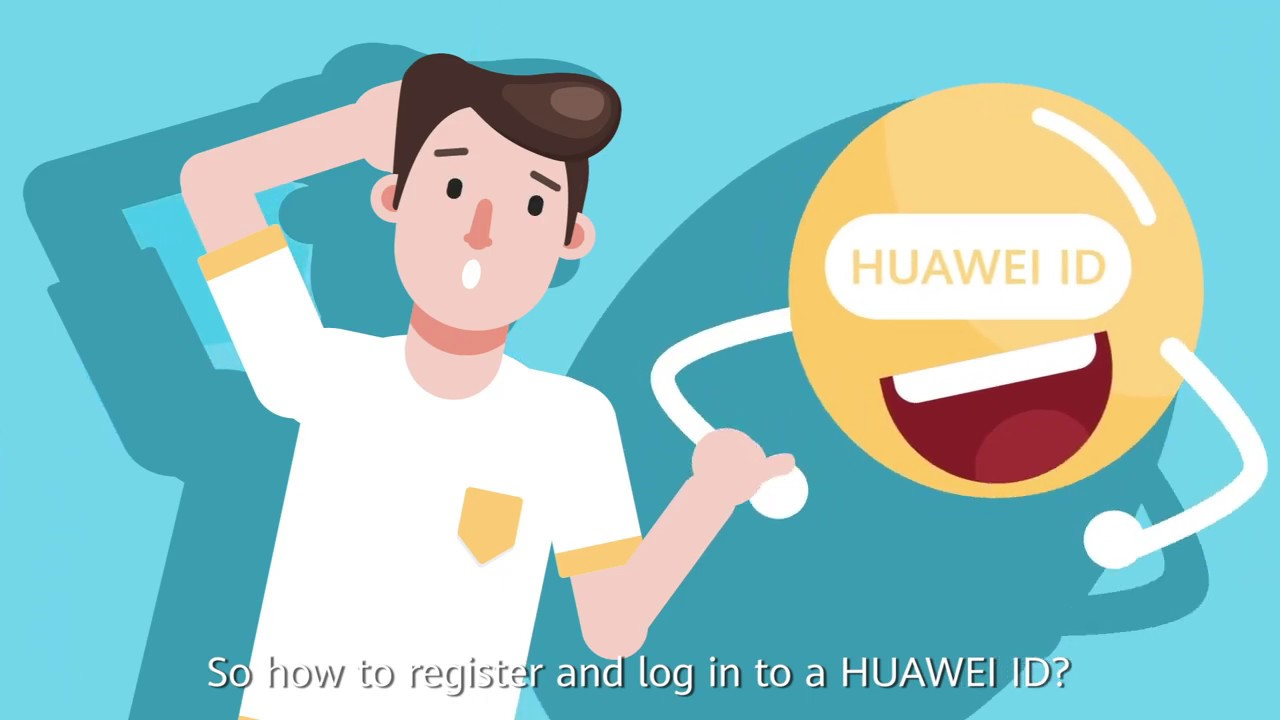 HUAWEI Support App Series_Cara Register dan Log-in Huawei ID