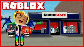 *I HAVE* MY OWN ROBLOX GAME STORE! (GameStore Tycoon)