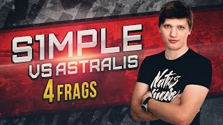 WATCH FIRST: s1mple vs Astralis de_train @ ESL Pro League S4 - Europe