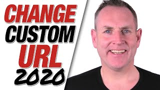 How To Change YouTube Custom URL 2019