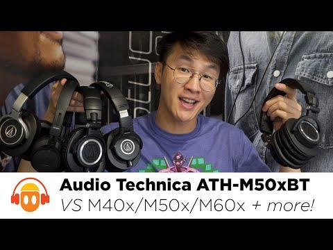 Audio Technica ATH-M50xBT Review Vs. M40x / M50x / M60x / M70x / MSR7 / DSR7 / Sony Hear.on 2
