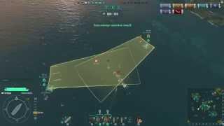 World of Warships - выпуск №73 - Ручной сброс торпед и бомб (через ALT). Подробно для новичков