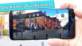 Samsung Galaxy S8 Kamera App – alle Funktionen, Tipps & Tricks | deutsch