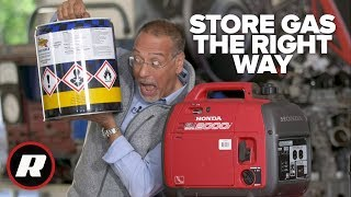 How To Store Gas For Your Generator For Years Cooley Youtube