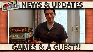 News (2014-02-02): Games And A Guest?!