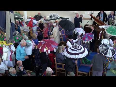 Kirkcudbright Jazz Festival Brolly Parade 2018 01