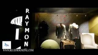 Raymond showroom |Interior and exterior design in bhairahawa, butwal and lumbini | bluefrog interior