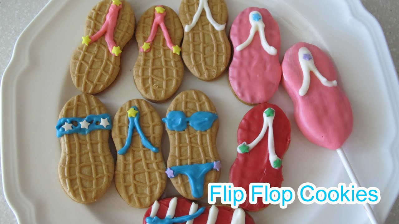 cbefb5af0879d How to Make Flip Flop Sandal Bikini Cookies(Nutter Butter) -  Simply  Yummy by Elegant Fashion 360
