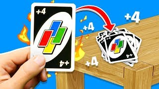We Took UNO Way to FAR! (Funny Moments)