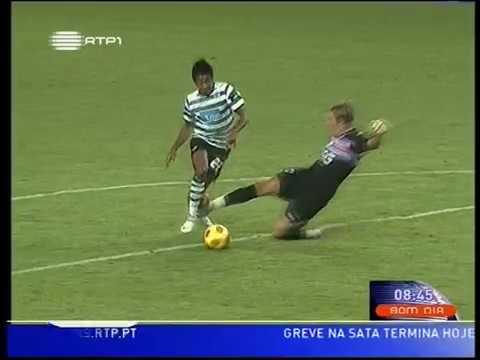 Sporting - 2 x Sampdoria - 0 de 2008/2009 Particular