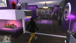 Как изменить интерьер квартиры в GTA V Online