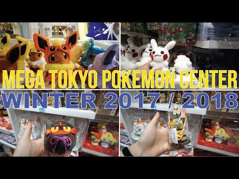 Mega Tokyo Pokemon Center Tour | Winter  2017/2018 (Full Walkthrough)