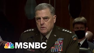 Gen. Milley: 'I Am Not Qualified To Determine The Mental Health Of The President'