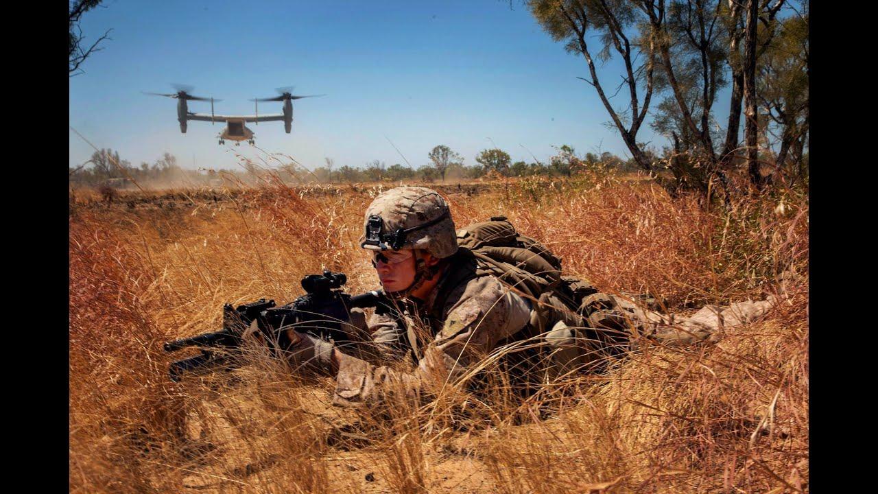US Marine Combat Footage Patrol - YouTube