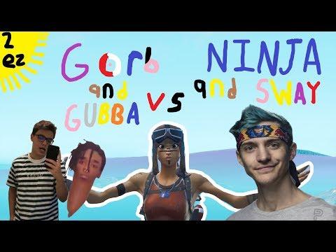 I beat Ninja & FaZe Sway in Friday Fortnite!