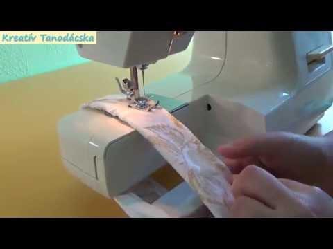 742e88d122 Gyermek nadrág varrás, leggings - Kreatív Tanodácska - YouTube