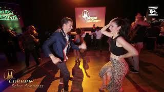 Anichi Perez & Rebecca - social dancing @ Cologne Salsa Congress 2019