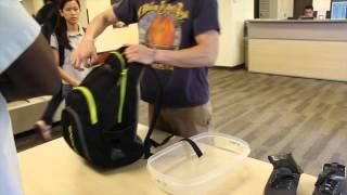 HOW TO GO THROUGH AIRPORT TSA