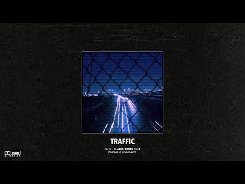 "(FREE) 6LACK x Bryson Tiller Type Beat – ""Traffic""   Dark R&B Type Instrumental 2019"