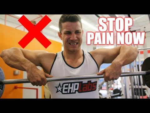 How to Upright Row PROPERLY While Avoiding Pain! Fix Your Upright Barbell Row Form NOW!
