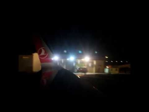 Turkish Airlines NEO Airbus A321-231 TC-JSK sharklet landing in sulaimaniyah airport