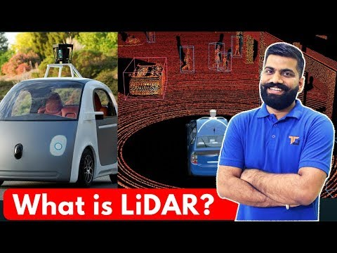 What is LiDAR? LiDAR Explained - LASER Beams in Self Driving Cars?