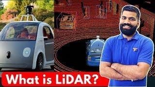What is LiDAR? LiDAR Explained - LASER Beams in Self Driving Cars?