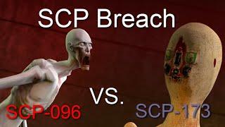 SCP-096 Vs. SCP-173 SFM