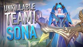 WILD RIFT   AN UNKILLABLE TEAM!   Sona Gameplay   Ranked